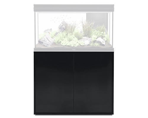 meuble bas pour aquarium aquatlantis fusion 101 noir hornbach luxembourg. Black Bedroom Furniture Sets. Home Design Ideas
