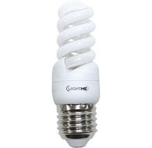 Ampoule à économie d'énergie LIGHTME Full Spiral E27/9W blanc chaud-thumb-0