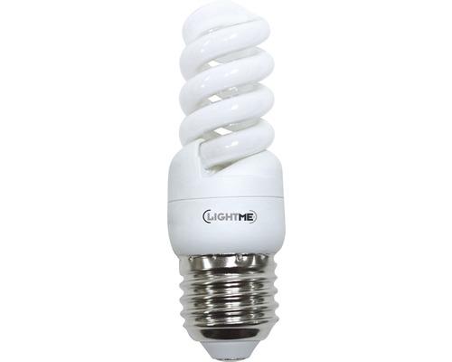 Ampoule à économie d'énergie LIGHTME Full Spiral E27/9W blanc chaud-0
