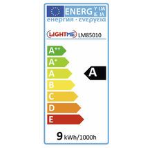 Ampoule à économie d'énergie LIGHTME Full Spiral E27/9W blanc chaud-thumb-1