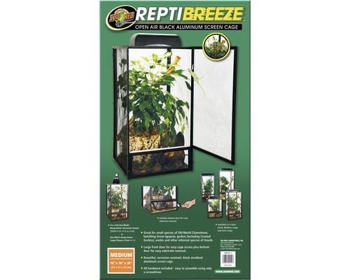 Terrarium Repti Breeze ZOO MED 40x40x76cm alu sans éclairage
