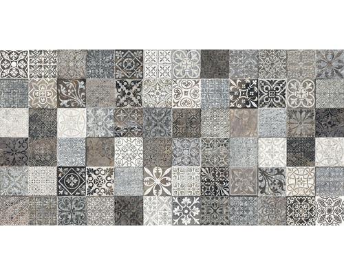 Carrelage décoratif Sahara gris, 32x62.5 cm