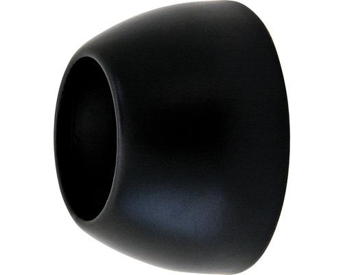 Naissance pour tringle pour Rivoli noir Ø 20 mm