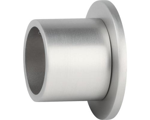 Naissance pour tringle Gent aspect acier inoxydable Ø 25 mm