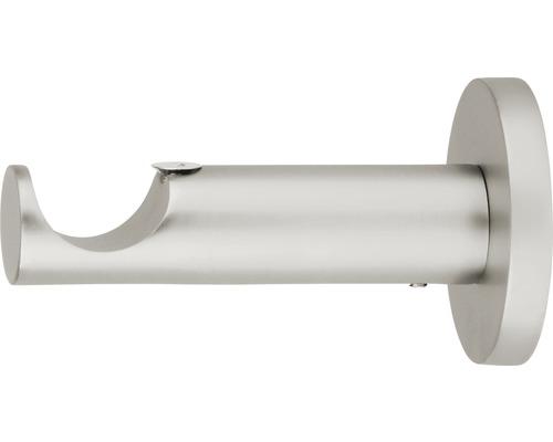 Support Gent function aspect acier inoxydable Ø 25 mm longueur 8 cm