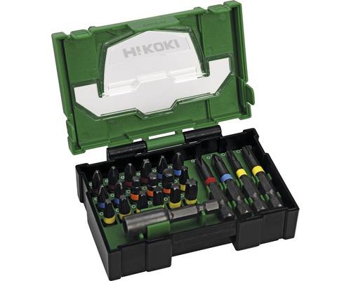 Bit Box HiKOKI 23 pièces résistant aux chocs (Mini)