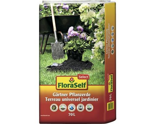Gärtner Pflanzerde FloraSelf Select, 70 L