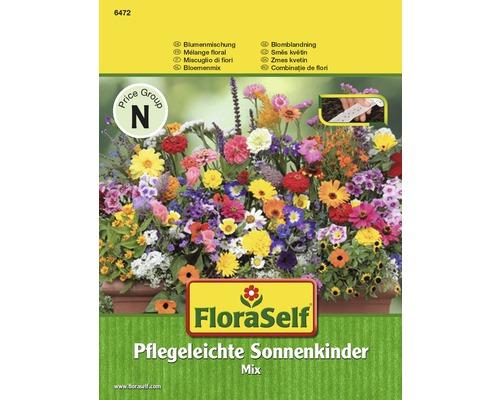 Mélange de fleurs enfants du soleil graines de fleurs FloraSelf® semences en ruban