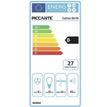 Hotte encastrable PICCANTE CALINO 60 CM acier inoxydable-thumb-1