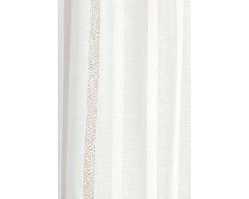 Scheibengardine My Way offwhite-beige 140x48 cm