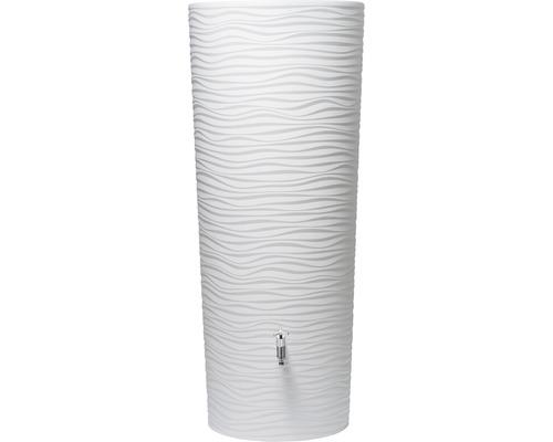Cuve de collecte d''eau de pluie Natura 2 en 1, blanc
