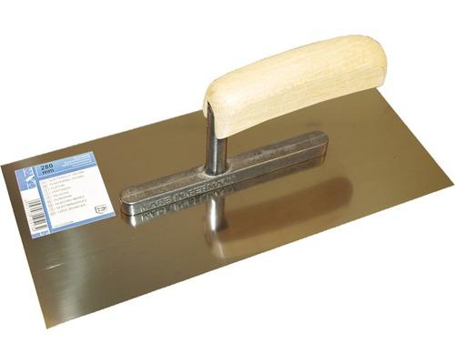 Glättekelle 28 cm, 0,6 mm, Edelstahl