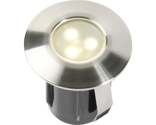 Extension d''éclairage LED à encastrer pour 4057603 1x0.5 W acier inoxydable 4057601 42x45mm