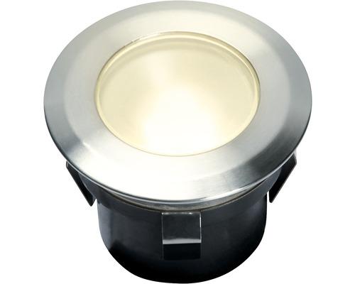 Extension d''éclairage LED à encastrer pour 4058603 1x1 W acier inoxydable 4058601 70x42mm