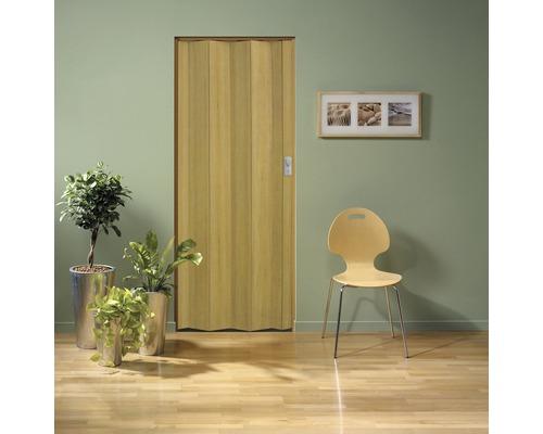 Porte pliante Grosfillex Spacy effet bois ancien 205x84cm