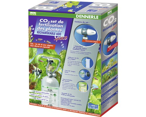 Kit d''engrais réutilisable CO2 600 Space