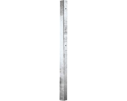 Montant de butée pour portail à un vantail en acier galvanisé 2500mm