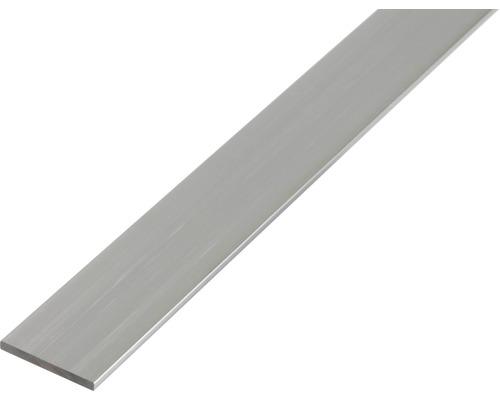 Profilé plat en aluminium 20x2 mm, 2.6 m