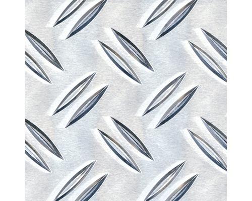 Tôle striée en aluminium 400x1.5x2000 mm
