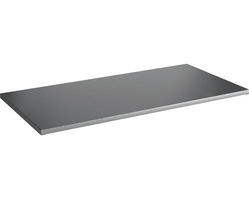 Tablette à système d''emboîtement Vario 1000x30x350mm grise