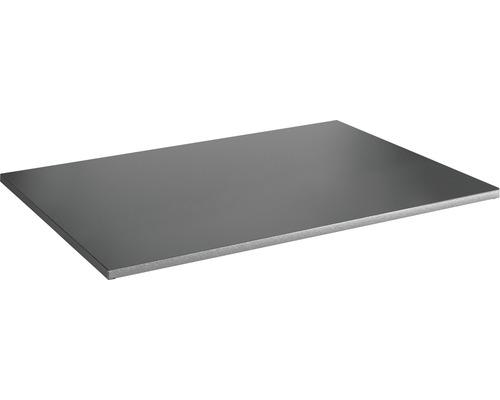 Tablette à système d''emboîtement Vario 1000x30x500mm grise