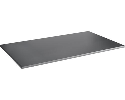 Tablette à système d''emboîtement Vario 1200x30x500mm grise