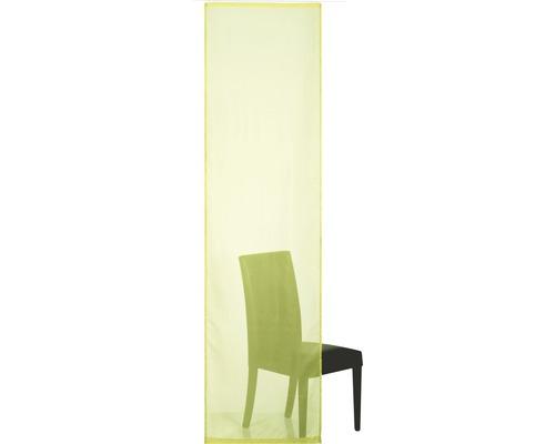 Schiebegardine Basic grün 60x245 cm