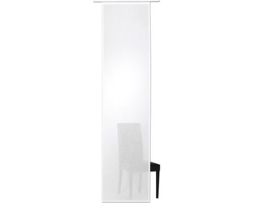 Panneau japonais Kiruna uni blanc 60x245 cm