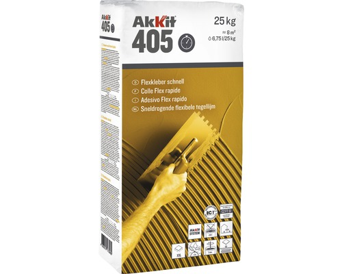 Akkit 405 Flexkleber schnell 25 kg