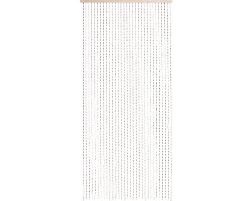 Rideau de porte perles en bois Dehli 90x200 cm