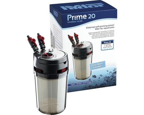 Filtre extérieur Hydor Prime 20 avec matériaux filtrants 100-250l