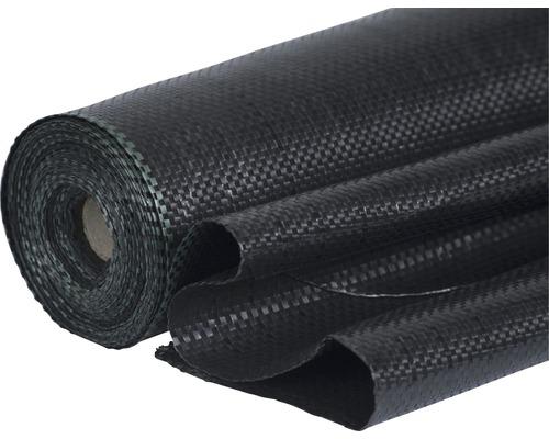 Intissé pour sol 100 g/m² FloraSelf® 25x2m, noir