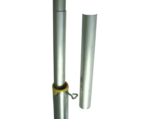 Mât télescopique en aluminium 2.8m