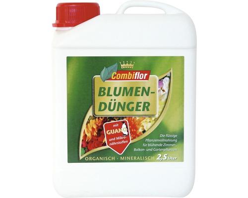 Engrais pour fleurs Combiflor avec guano 2,5 L