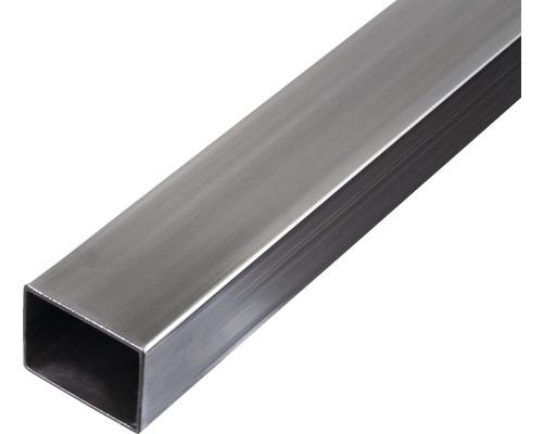 Tube rectangulaire en acier 40x30x1.5 mm, 3 m