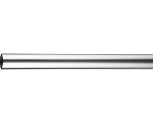 Tringle à rideaux Narvik, Capri aspect acier inoxydable Ø 16 mm 120 cm