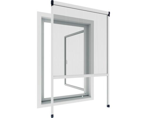 Store moustiquaire pour fenêtre Rhino Screen blanc 130x160 cm