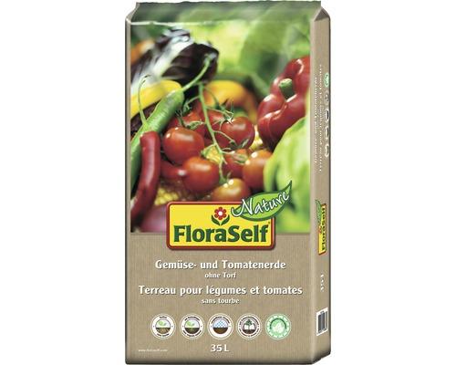 Terreau pour légumes et tomates FloraSelf Nature®, 35 L