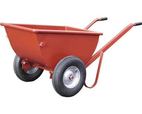 CAPITO Kippjapaner COMPACT 250 Liter 180° kippbar Vollgummiräder mit Blockprofil und Stahlfelge inkl. Kunststoffgriffe