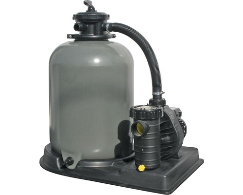 Filtre à sable SF 142, 8m³/h, avec vanne de tuyauterie