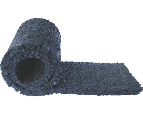 Assise pour poutre, noire 2300x77x8 mm