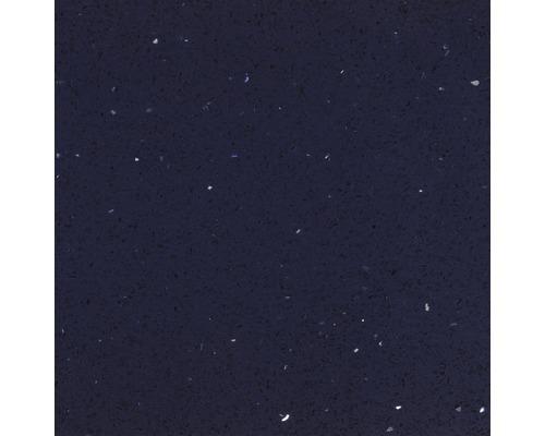 Carrelage de sol, composite de quartz, bleu, 60x60 cm