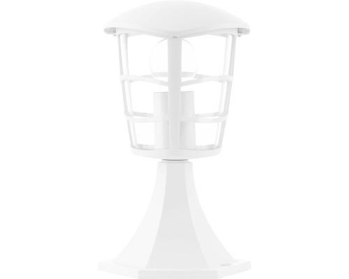 Borne extérieure 1 ampoule H 312 mm Aloria blanc