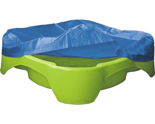 Bac sable plastique avec housse de protection 96x96x24 - Bac sable plastique ...