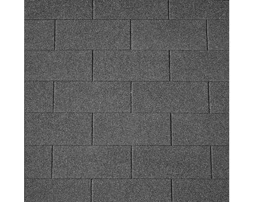 Bardeaux rectangulaires Precit noir pack=2 m²