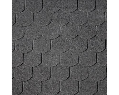 Bardeaux arrondis Precit noir pack=2 m²