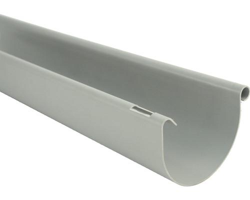 Gouttière de 125 mm grise