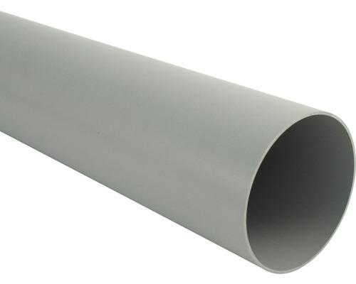 Tuyau de descente Marley diamètre nominal 75mm gris longueur: 1,00m