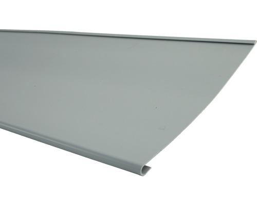 MARLEY Traufstreifen Kunststoff grau 2000 x 250 mm