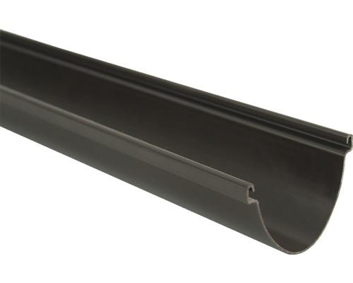 Gouttière Duplex 80mm marron longueur:2000mm